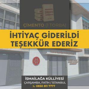 https://ismailagakulliyesi.com/wp-content/uploads/2019/12/ismailaga-kulliyesi-bagis-1-torba-cimento-299x299.jpg